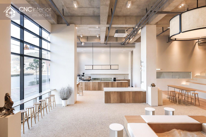 Thiết kế quán cafe Minimalism
