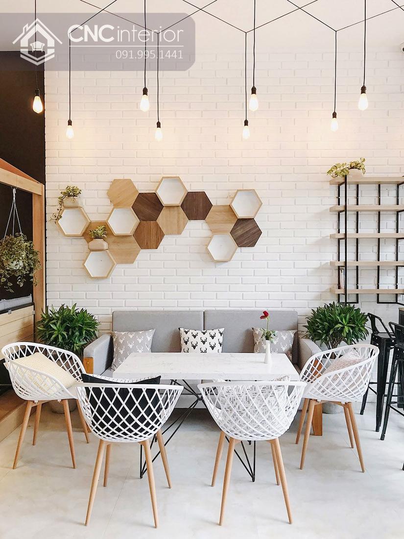 Thiết kế quán cafe Scandinavian