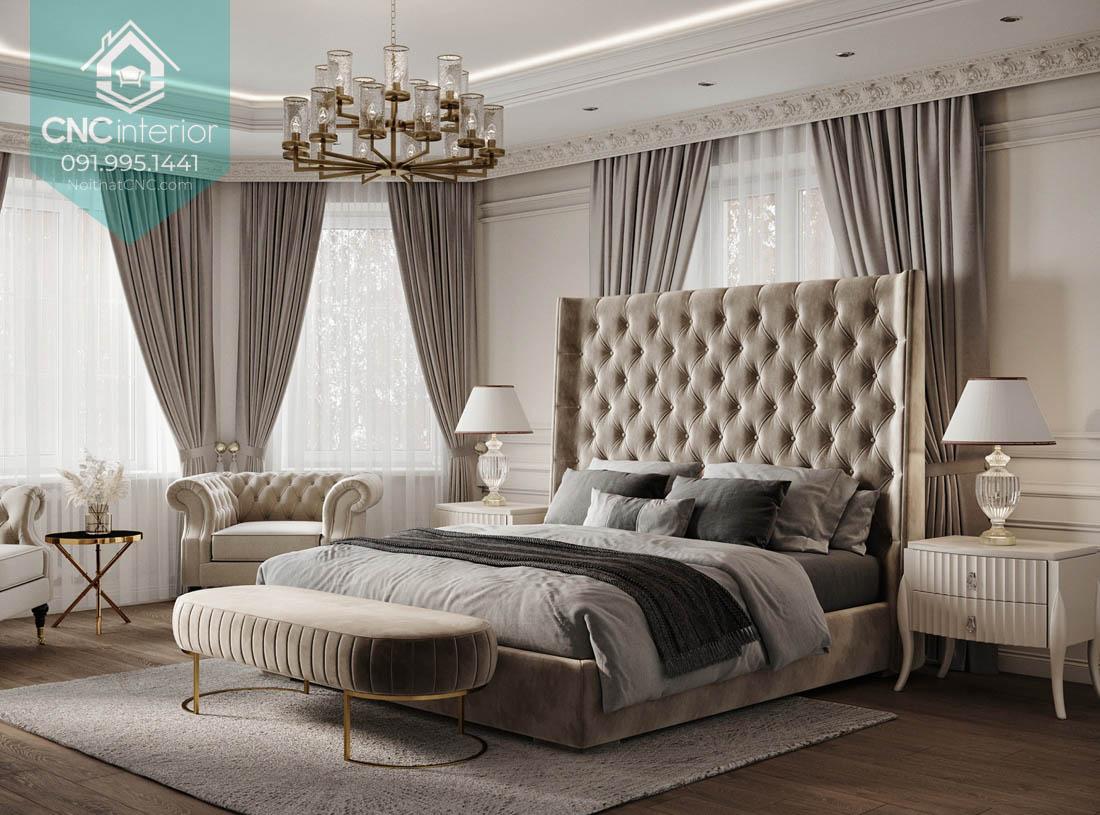 Thiết kế phòng ngủ vợ chồng đẹp 7