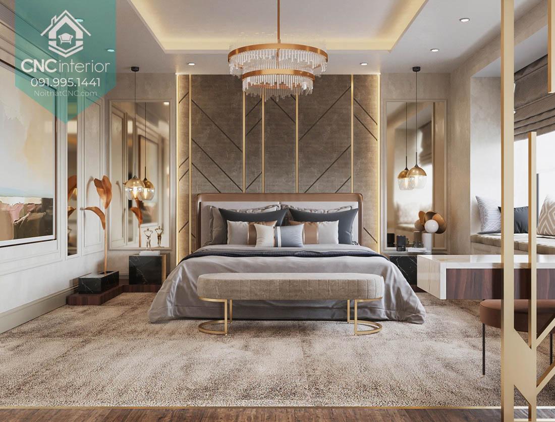 Thiết kế phòng ngủ vợ chồng đẹp 1
