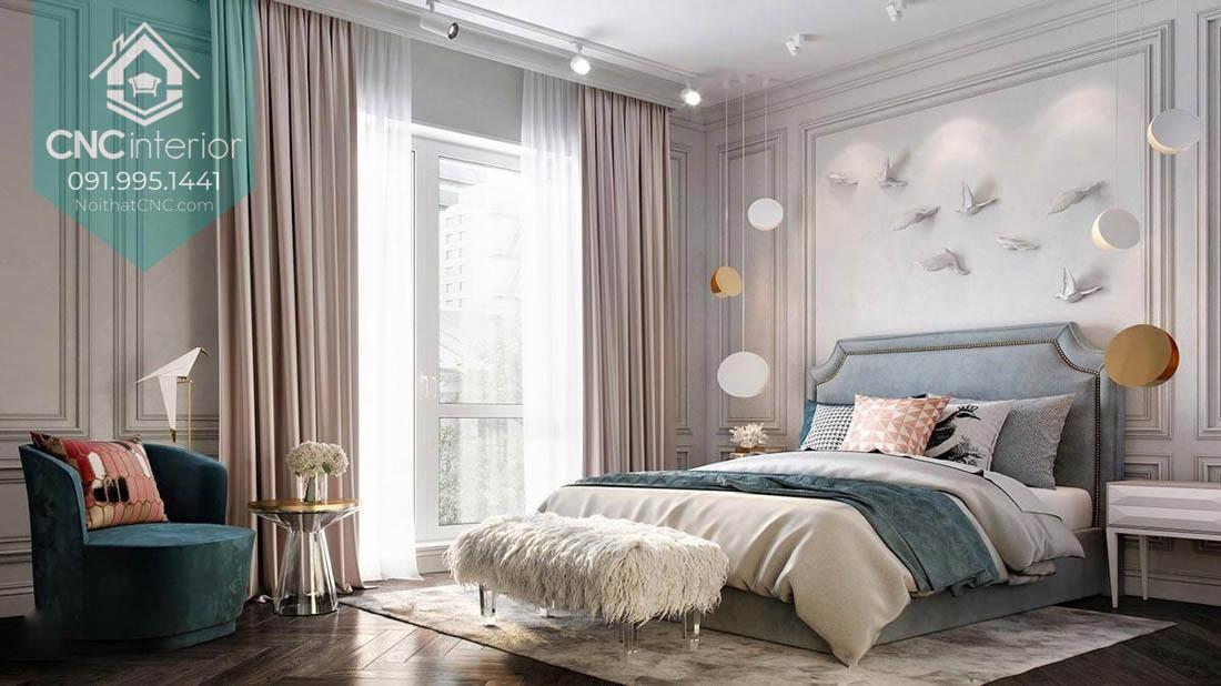 Phòng ngủ đẹp cho vợ chồng mới cưới 1