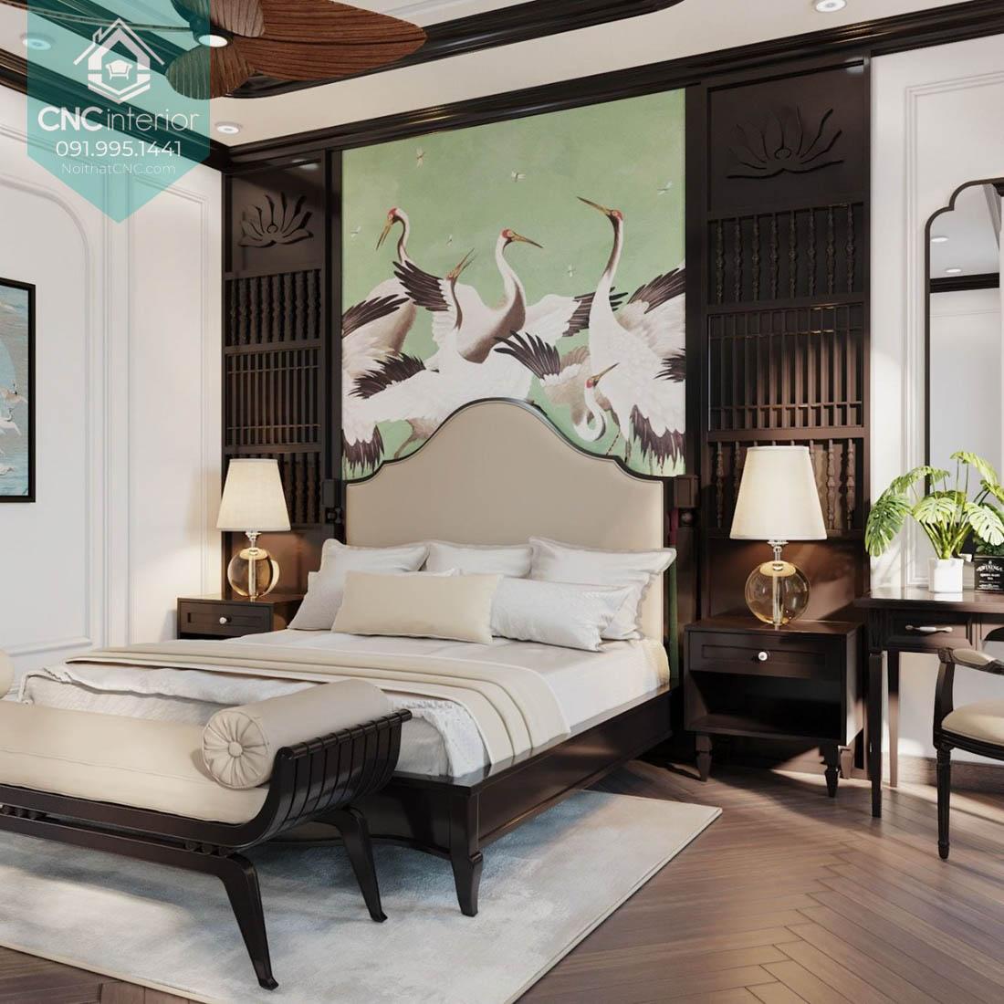 Phòng ngủ đẹp cho vợ chồng 10