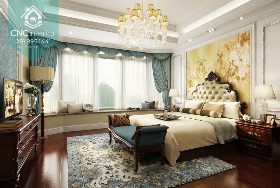 Phòng ngủ đẹp cho vợ chồng mới cưới 2