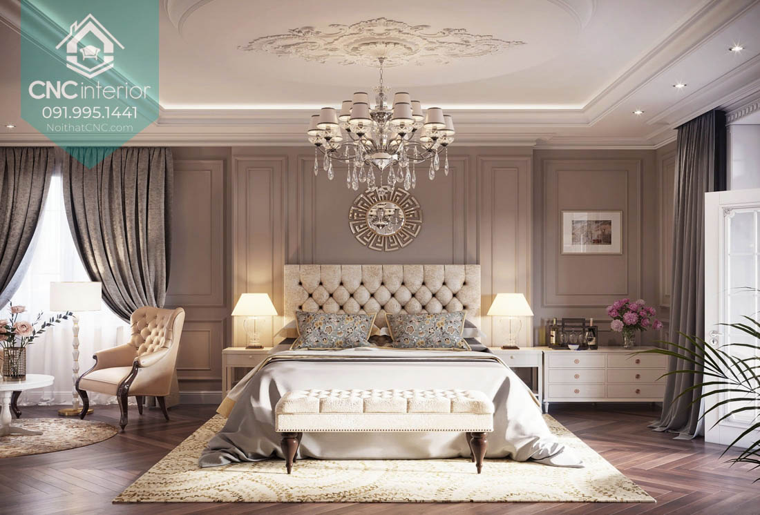 Thiết kế phòng ngủ vợ chồng đẹp 3