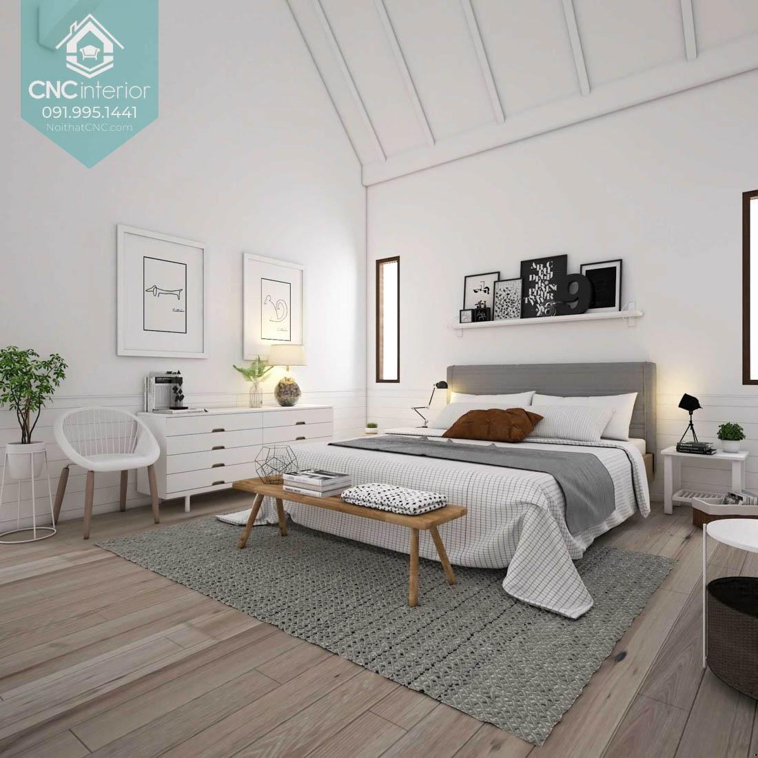 Phòng ngủ đẹp cho vợ chồng 3