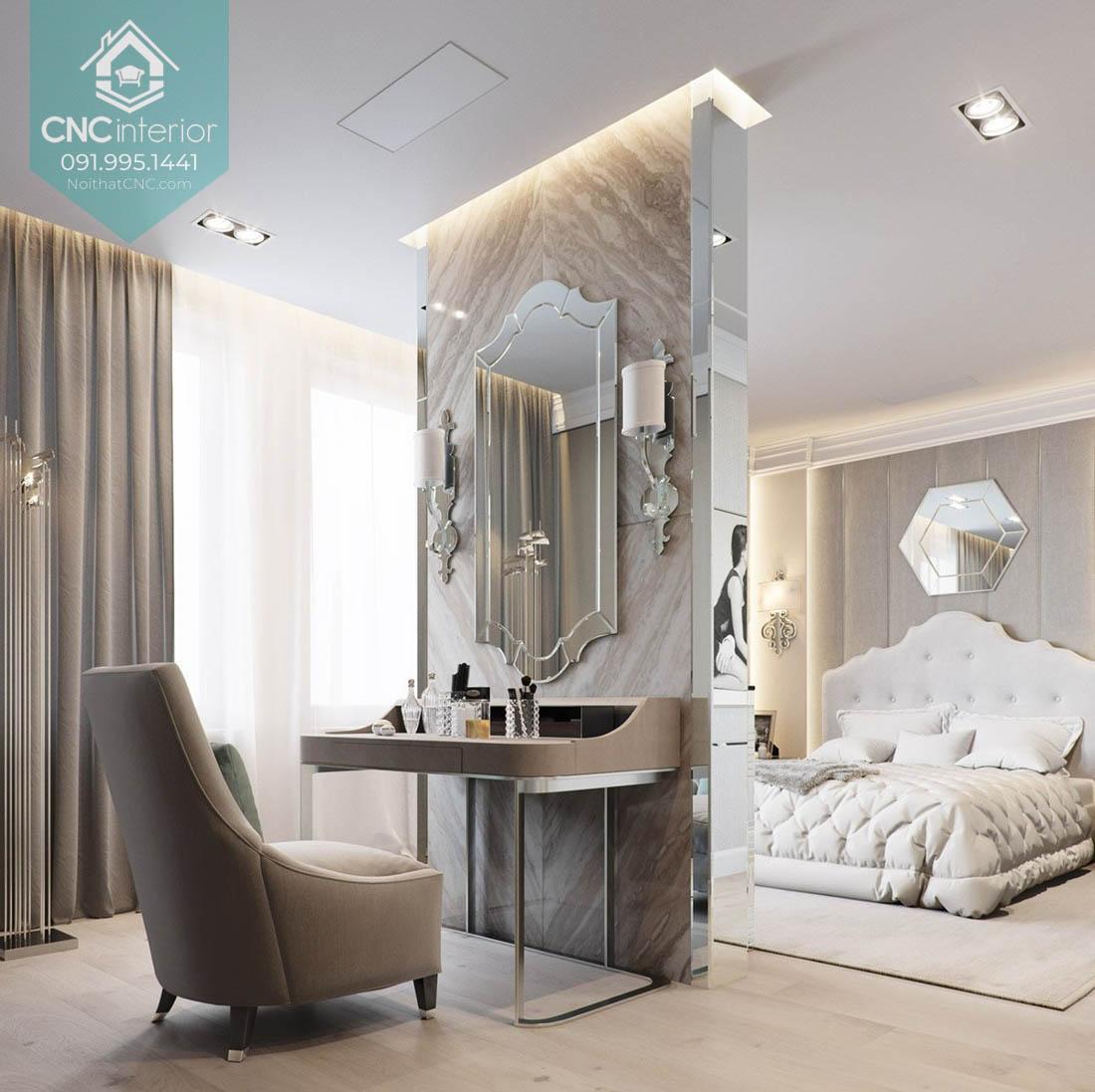 Thiết kế phòng ngủ cho vợ chồng 6