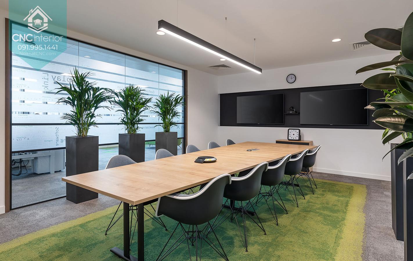 Thiết kế nội thất văn phòng đẹp 10