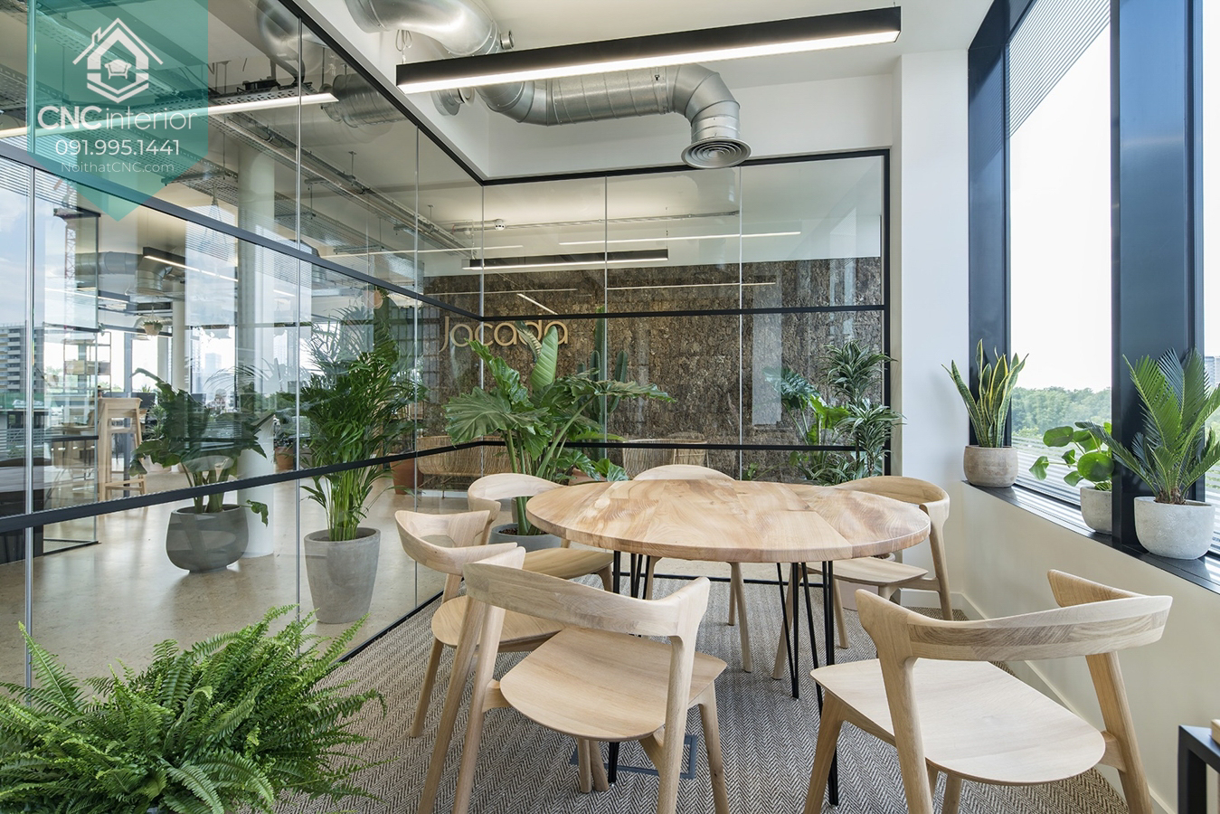 Thiết kế nội thất văn phòng đẹp 3