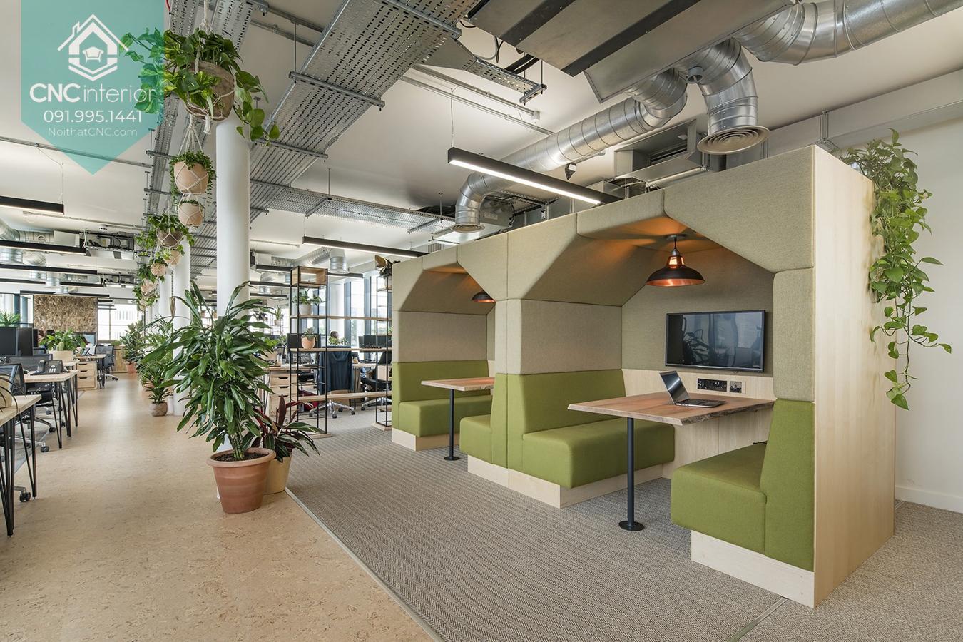 Thiết kế nội thất văn phòng đẹp 4