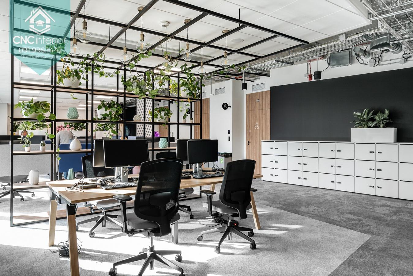 Thiết kế nội thất văn phòng đẹp 6