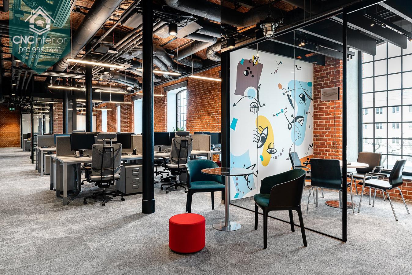 Thiết kế văn phòng xanh 3