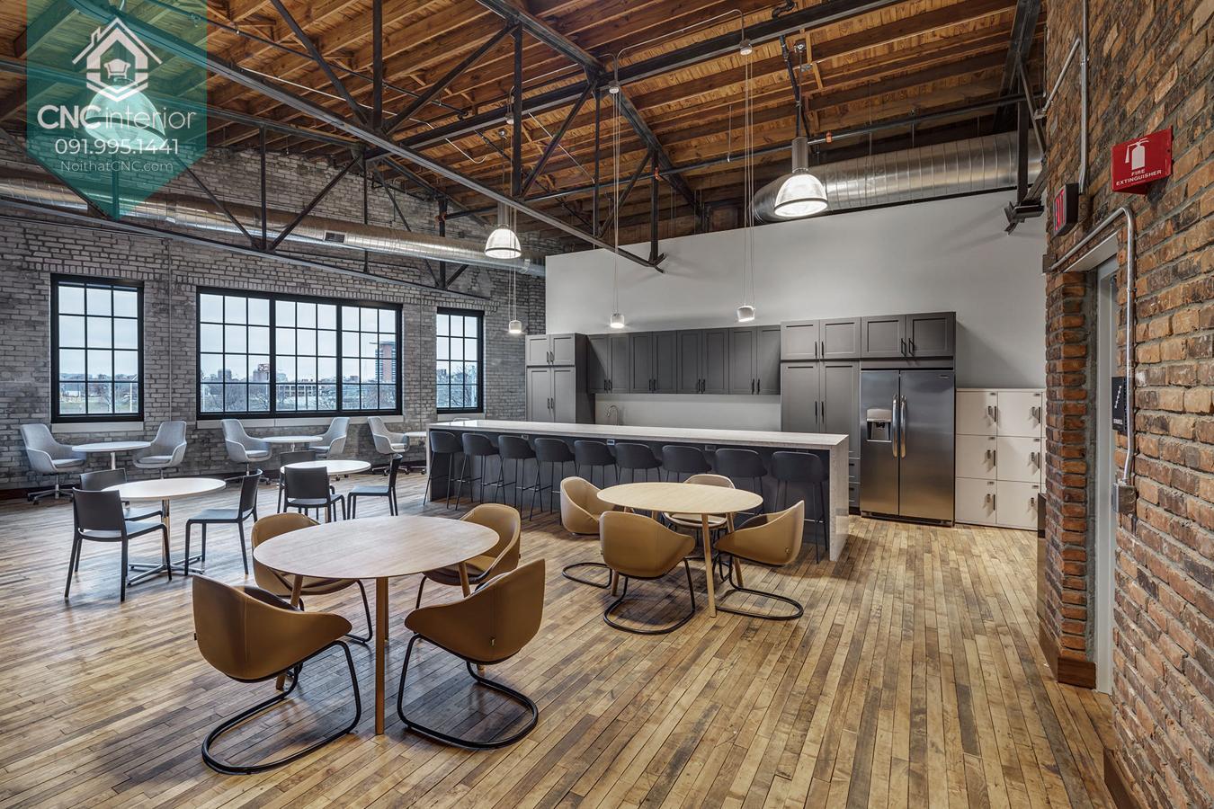 Thiết kế văn phòng xanh 5