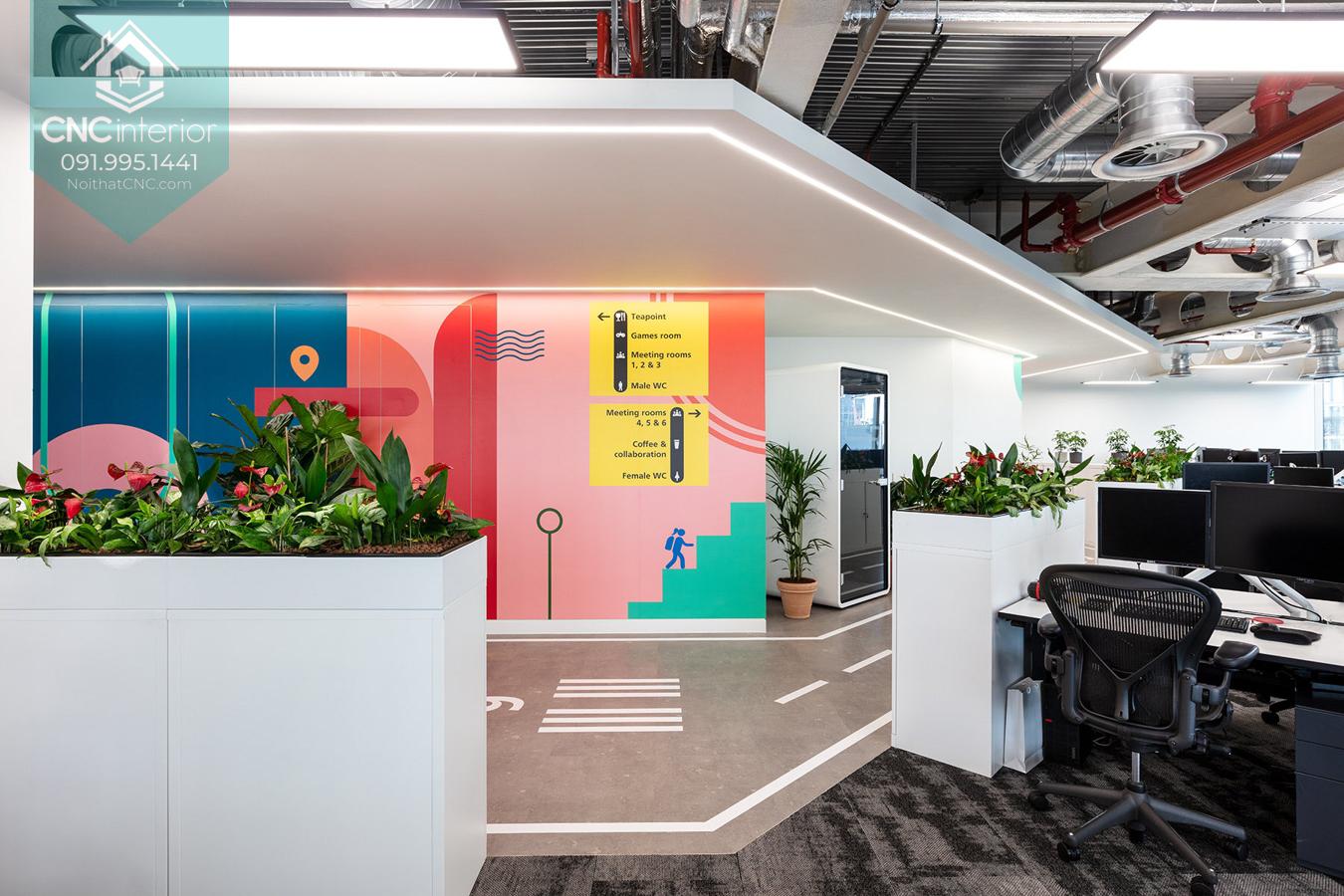 Mẫu văn phòng đẹp 4