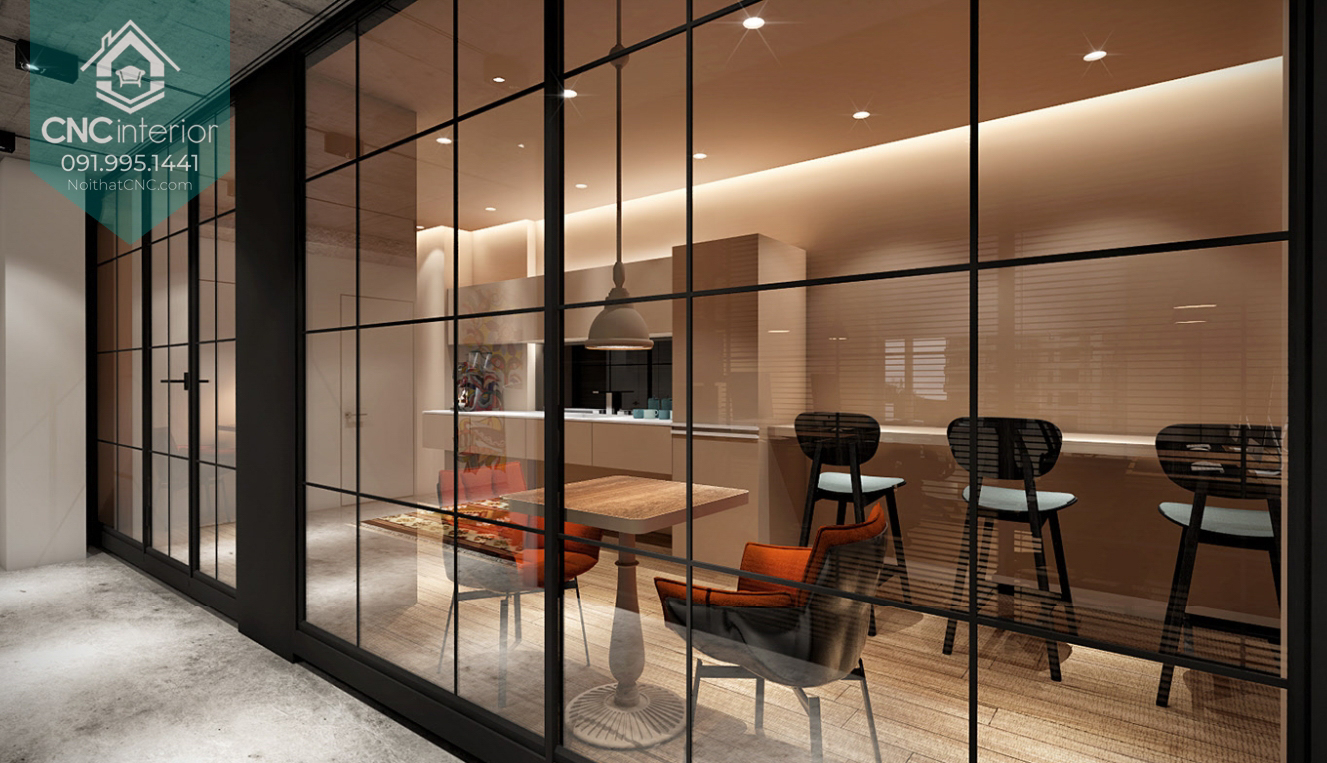 Mẫu thiết kế văn phòng đẹp 7