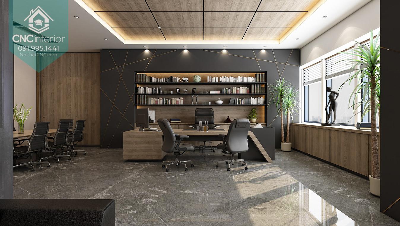Mẫu thiết kế văn phòng đẹp 10