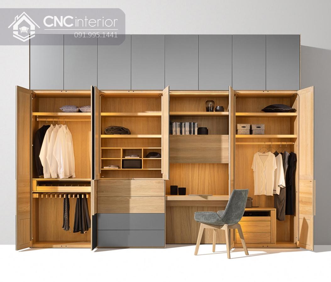 Tủ âm tường phòng ngủ CNC 17 3