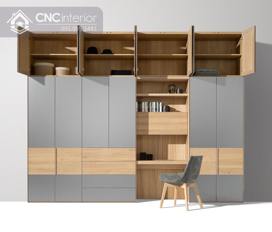 Tủ âm tường phòng ngủ CNC 17 2