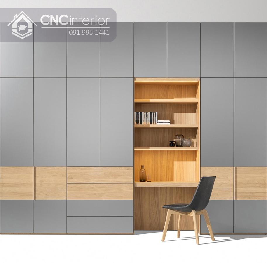 Tủ âm tường phòng ngủ CNC 17 1